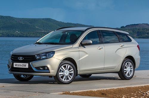 АвтоВАЗ рассекретил интерьер Vesta SW, а также стали известны технические характеристики и варианты цветов кузова универсалов (фото)