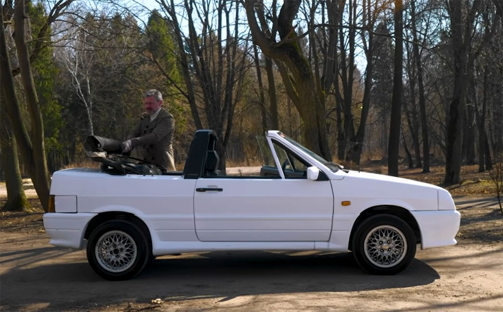 В 90-х на базе ВАЗ-2108 производили кабриолеты, которые ездят по дорогам до сих пор (видео)
